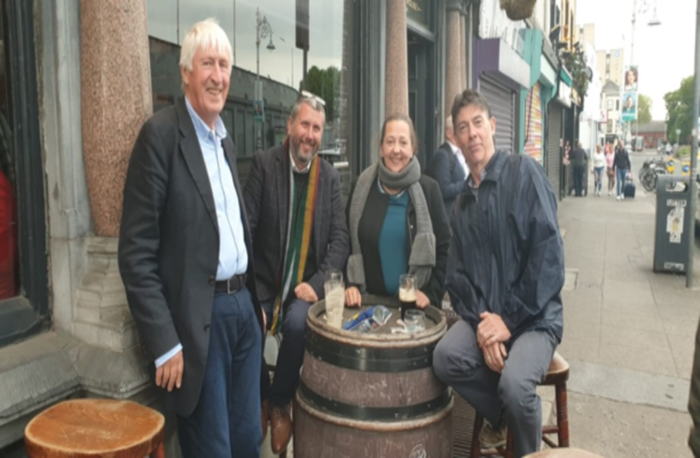 In Dublin to meet CIB / MABS
