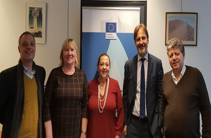 Meeting with DG Just in Brussel