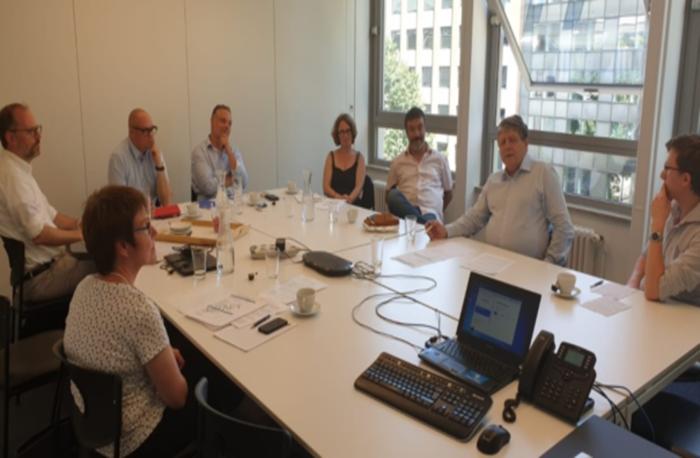 ECDN MC meeting in Brussel