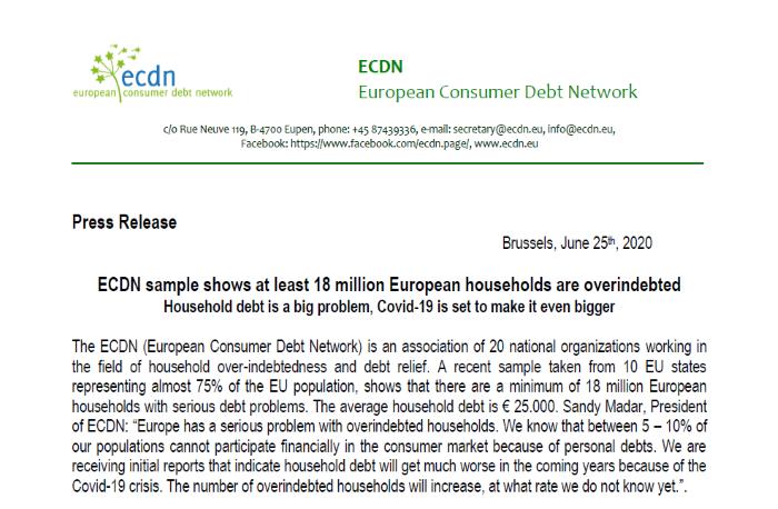 Press-Release on COVID-19 & Debt