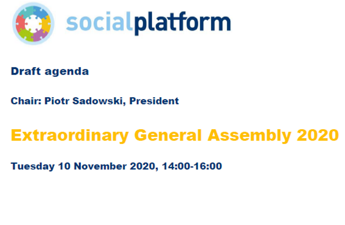 General Assembly at Social Platform